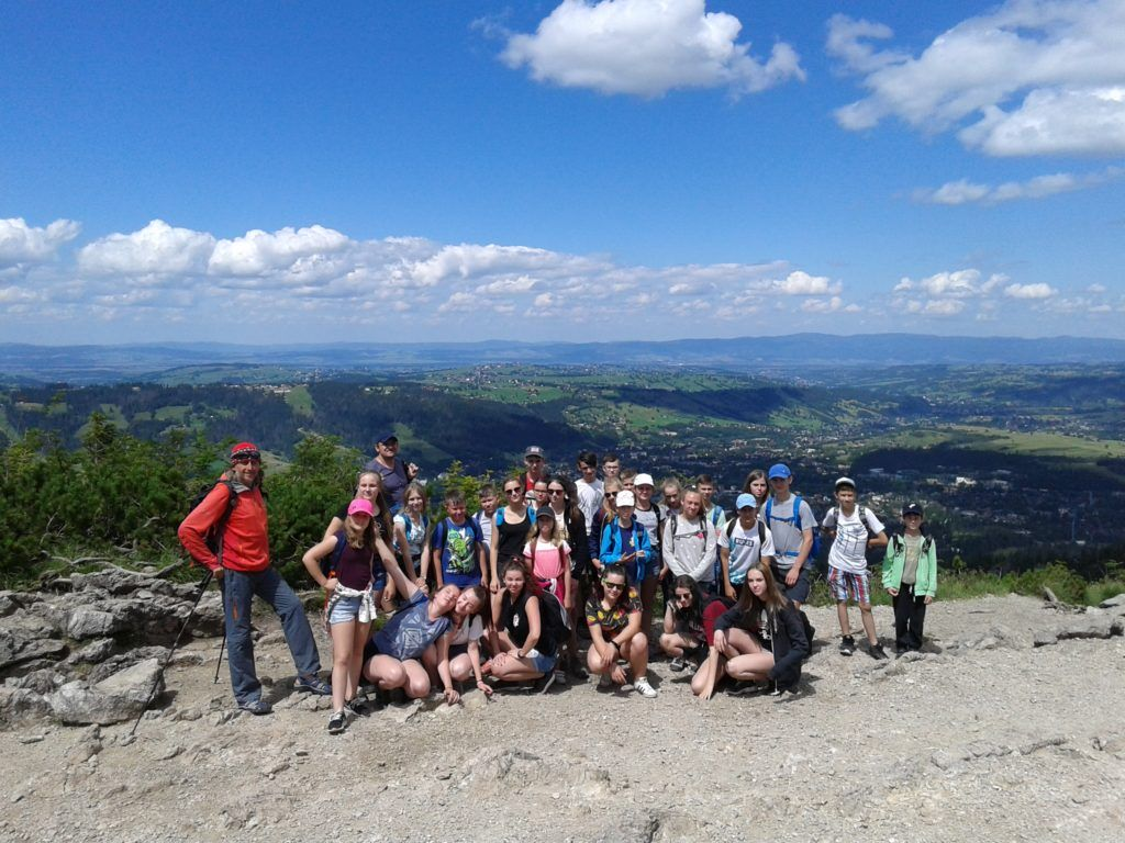 Obóz  w górach Biały Dunajec – 01.08-07.08.2021